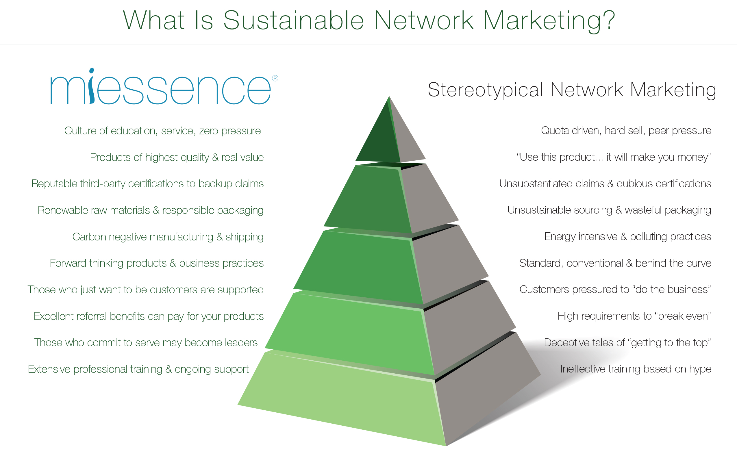 what is sustainable network marketing